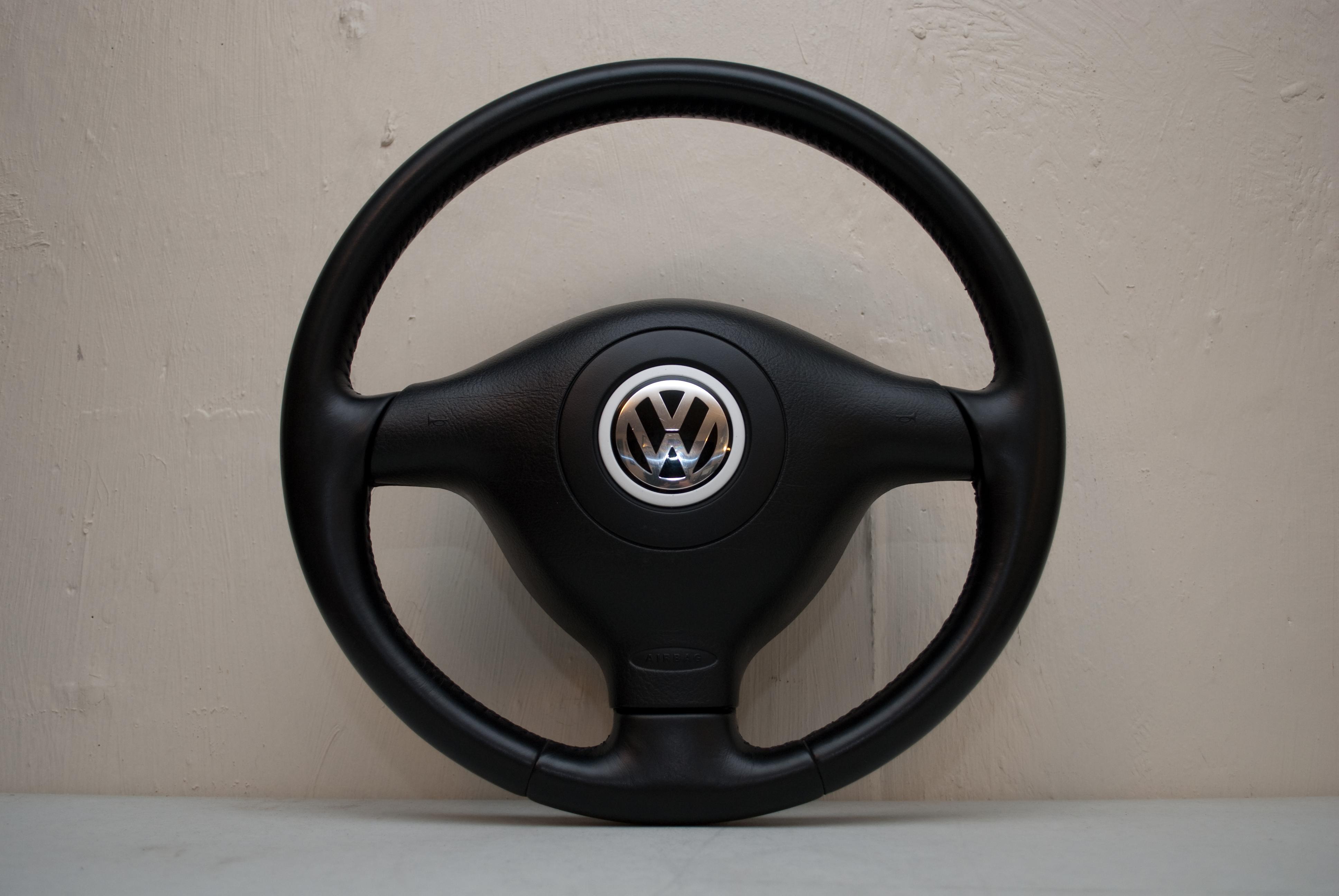 sold fs mkiv  spoke vw leather steering wheel big sky euro